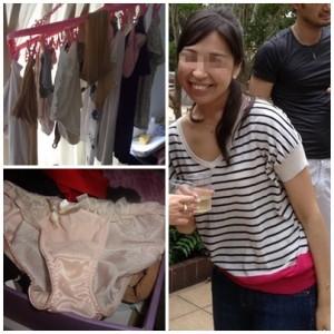 取引先の女の子(27歳)の自宅に侵入、下着を物色