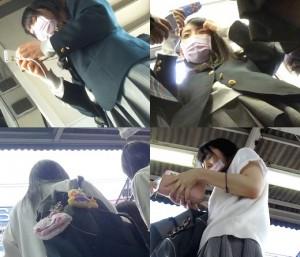 制服女子専門ストーカーの粘着パンチラ撮り vol.9 全編セット