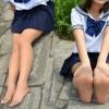 現役ゆあちゃんのセーラー服とブラウンパンスト続編