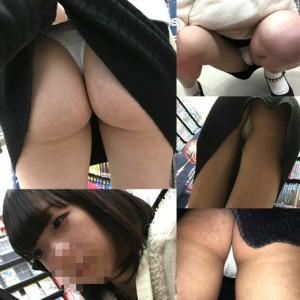 色白プリ尻激カワの黒髪美少女が初登場! 静止画まとめ売り