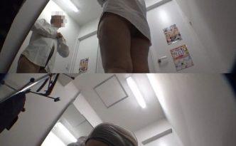 【隠撮】カフェ店員更衣室生着替え定点カメラ映像3(ローアングル)