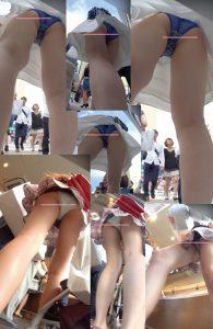 新フルHD高画質パンチラ逆さ撮り028 怒涛の17人のパンチラ!!超多人数オムニバスすぺしゃる