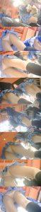 【ラブラ◯ブ】ハロウィンで友達とラブライブ制服の仮装をしてアゲアゲで遊んでる女の子たちのローアングルパンチラ