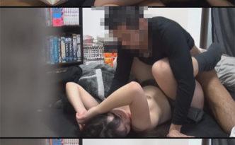 彼氏が彼女との放課後を隠し撮り自宅SEX被害映像②