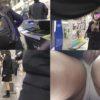 【電車痴漢】顔出し制服JK★優等生顔の正統派美少女★初の無音ローター責め★指2本挿入で潮吹き